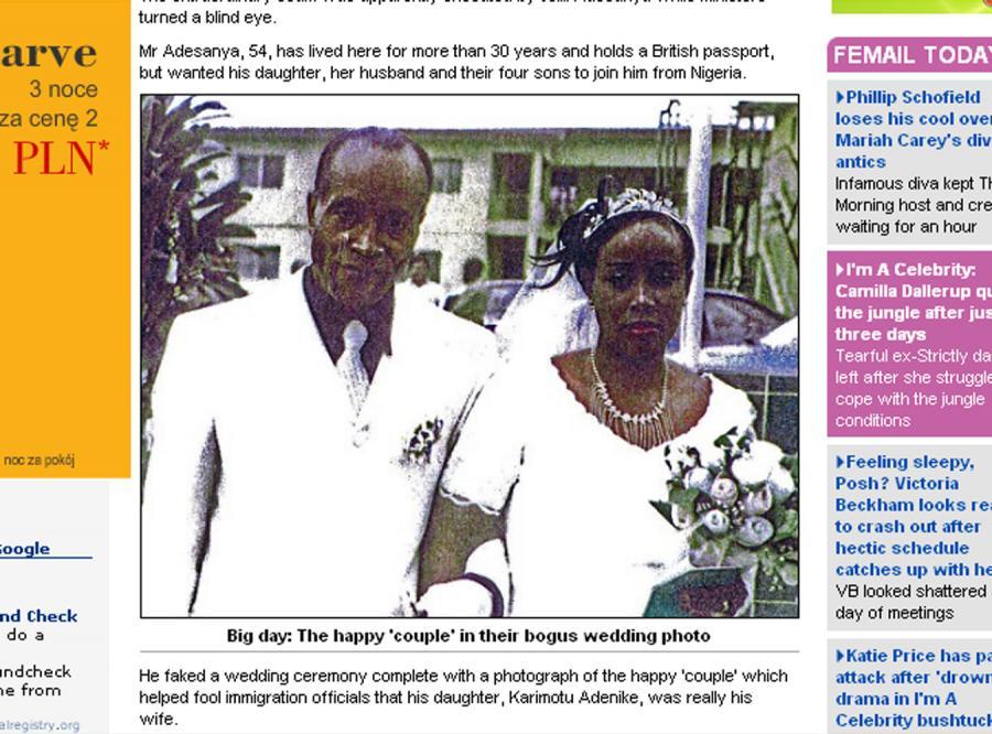 Ten mężczyzna poślubił własną córkę