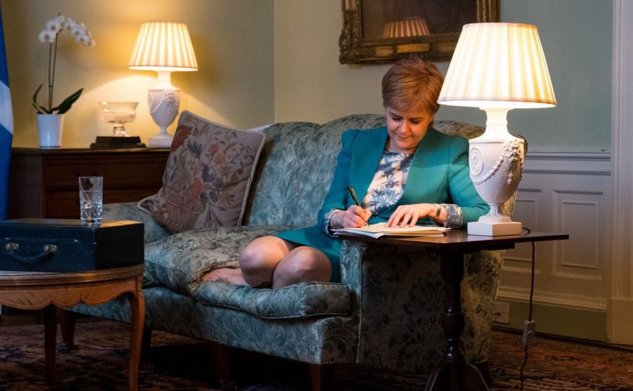 Pierwsza minister Szkocji, Nicola Sturgeon
