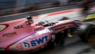 Bolid teamu Force India