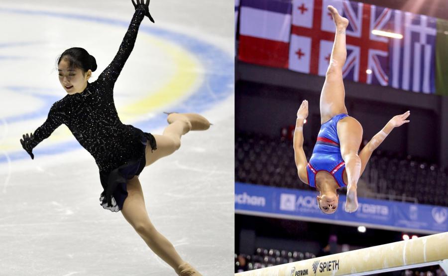 Li Zijun i Elissa Downie