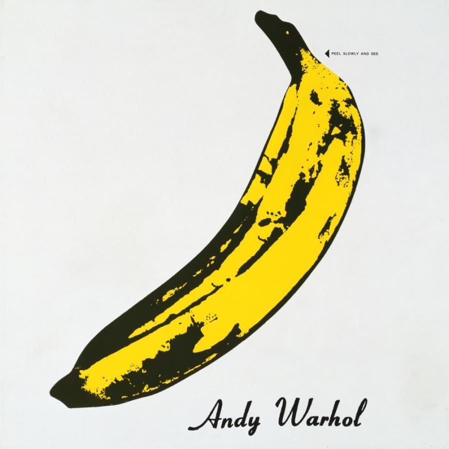 Andy Warhol okładka płyty Velvet Underground