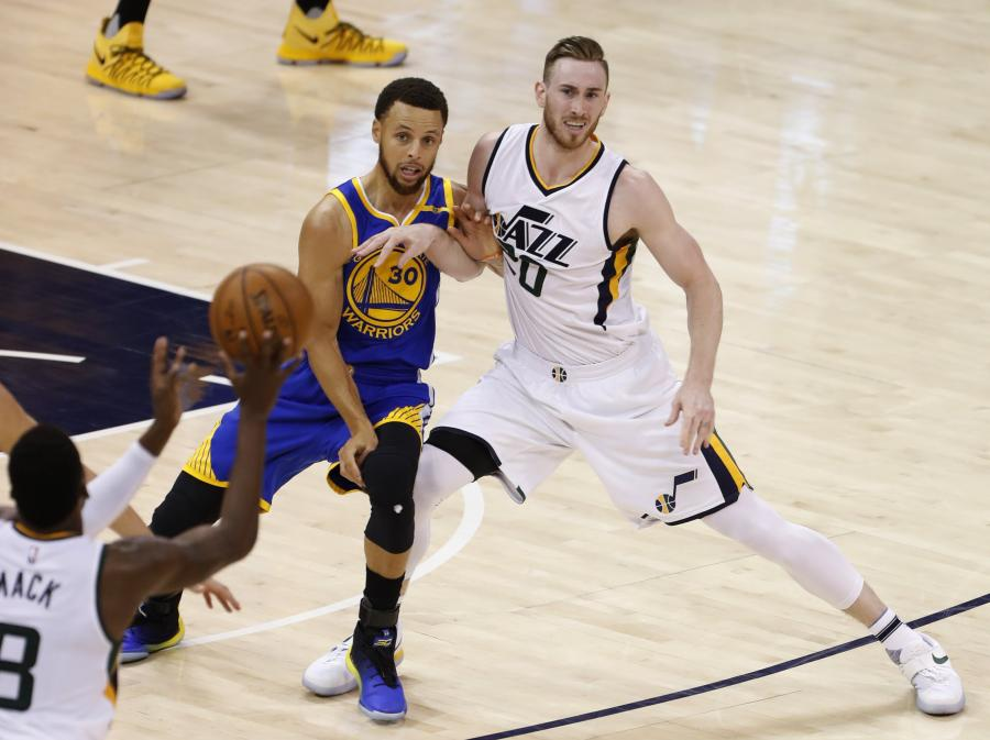 Stephen Curry i Gordon Hayward