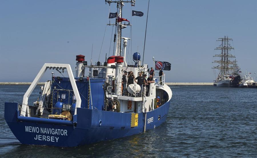 Statek badawczy Mewo Navigator