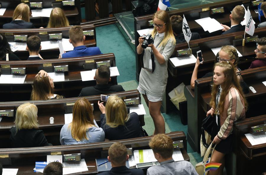 Posiedzenie Sejmu Dzieci i Młodzieży3