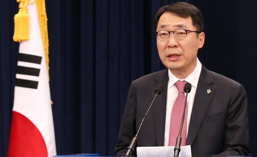 Yoon Young-chan, rzecznik prezydenta Korei Płd.