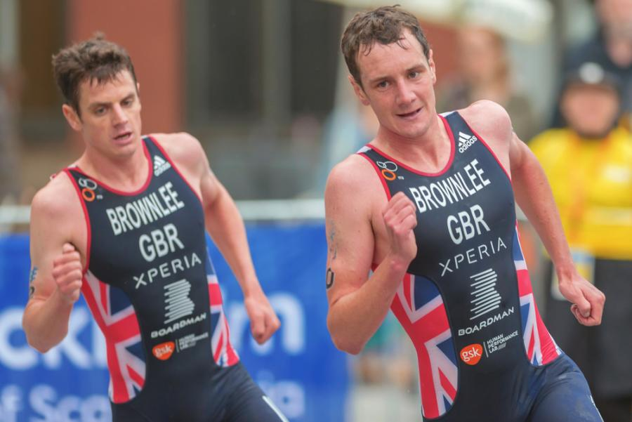 Jonathan Brownlee i Alistair Brownlee