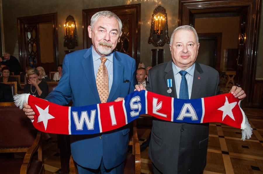 Jacek Majchrowski i Piotr Dunin-Suligostowski