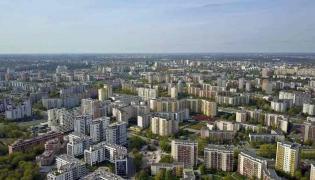 Warszawa bloki osiedle