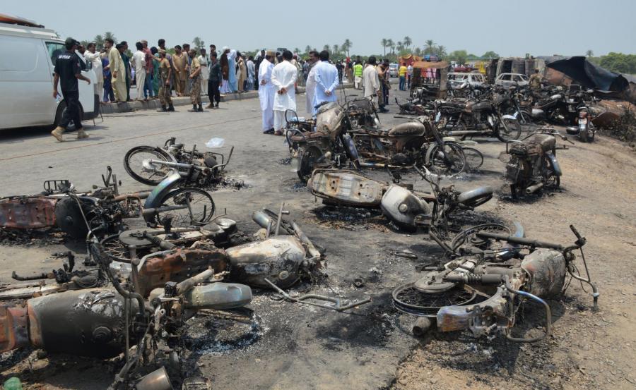 Wybuch cysterny w Pakistanie