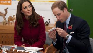 Para książęca - książę i księżna Cambridge, książę William i księżna Kate