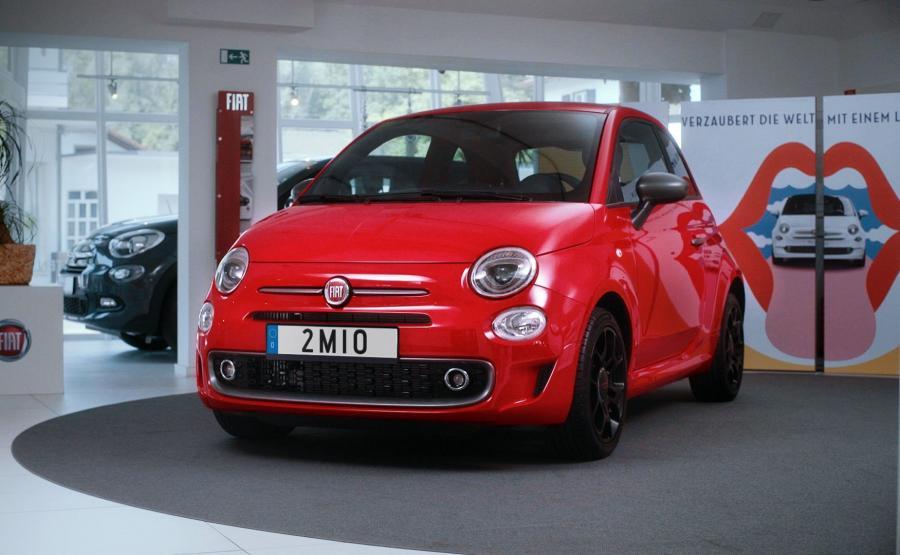 Fiat 500 nr 2 000 000 trafił do Niemiec