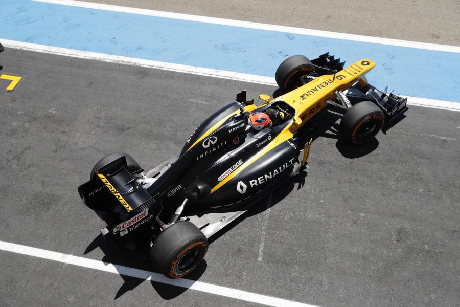 Robert Kubica w bolidzie Renault