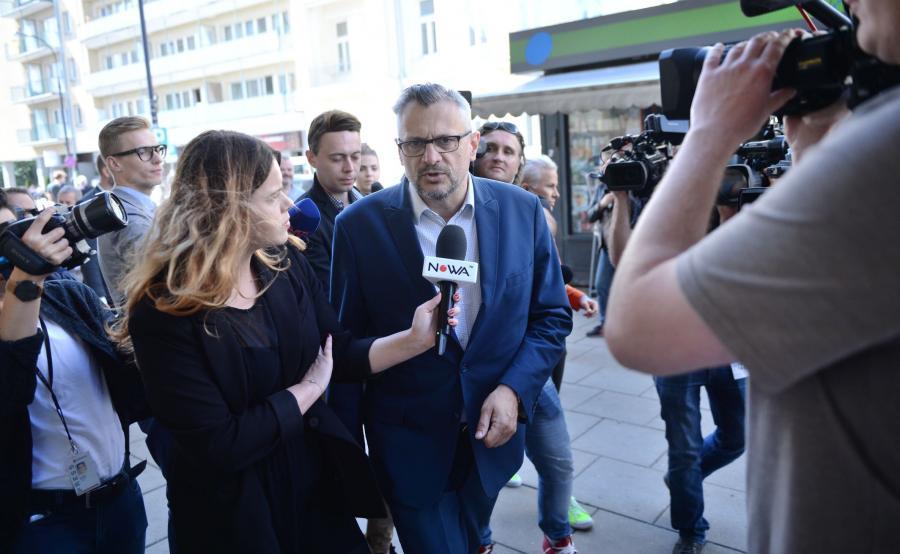 Poseł Tomasz Lenz z PO