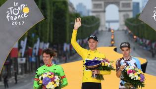 W tegorocznym Tour de France zwyciężył Christopher Froome