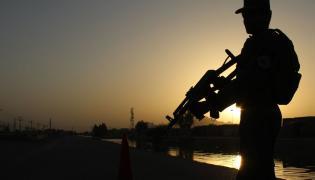 Afgański policjant