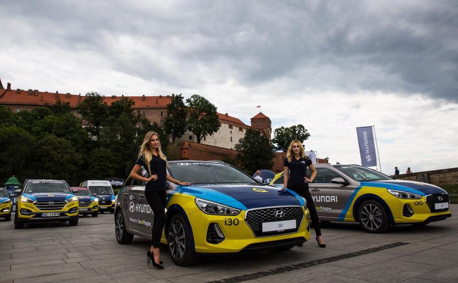 Z samochodów korzystać będą między innymi sędziowie, przedstawiciele mediów i goście VIP