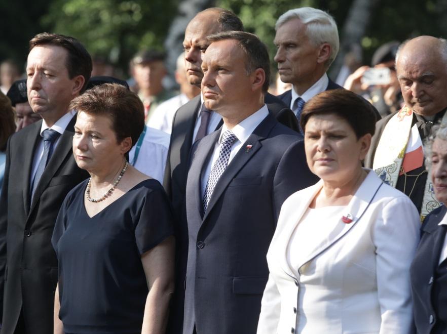 Hanna Gronkiewicz-Waltz; Andrzej Duda; Beata Szydło
