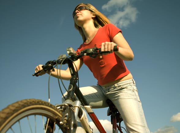 Modne rowerzystki wychodzą na ulice
