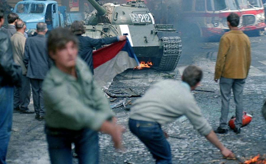Walki w Pradze w 1968 roku