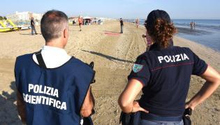 Policja w Rimini