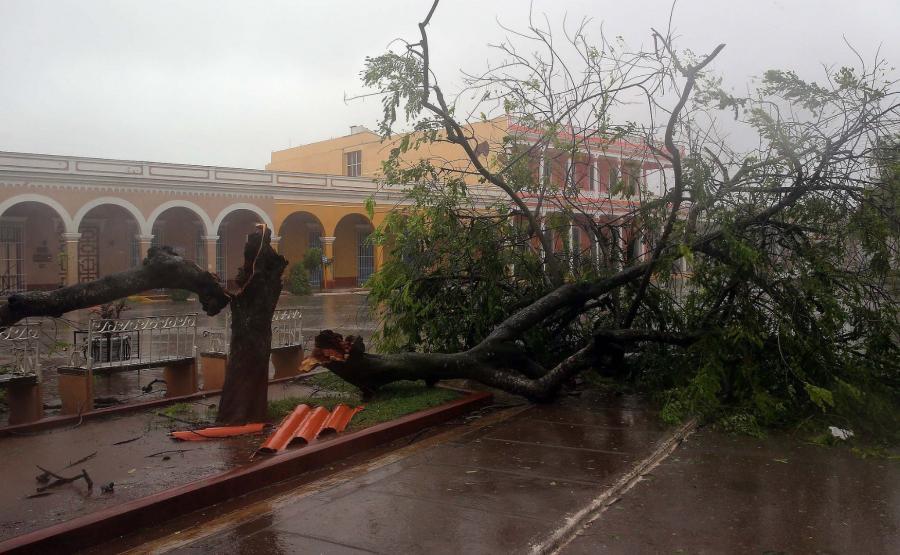 Irma dotarła na Kubę
