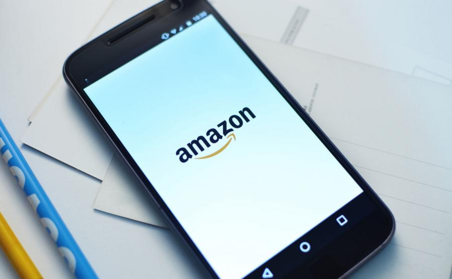 Aplikacja Amazon na smartfonie