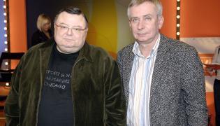 Wojciech Mann i Krzysztof Materna
