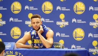Koszykarz Golden State Warriors Stephen Curry