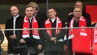 Prezydent Polski Andrzej Duda (2L)