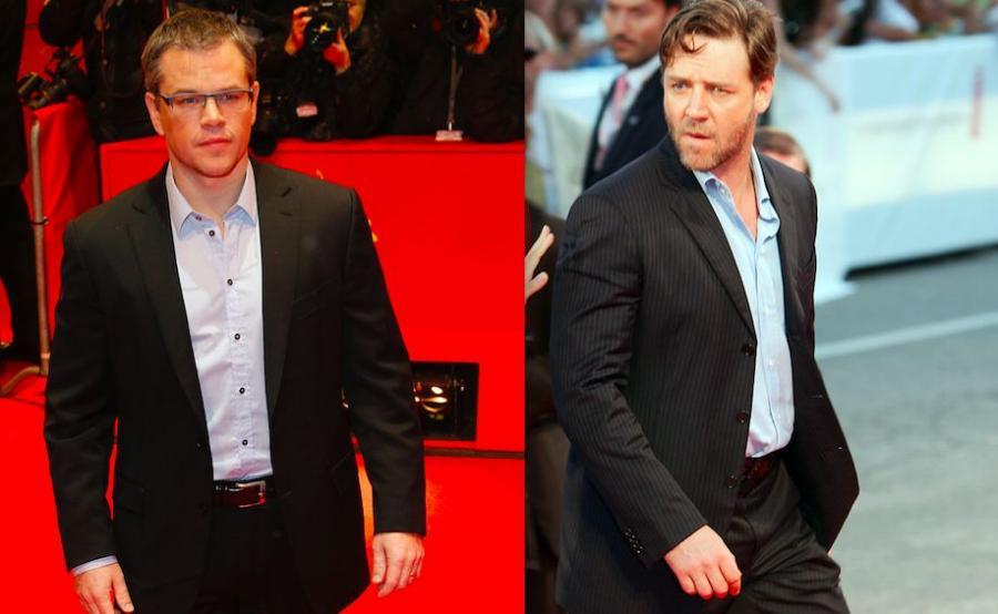 Matt Damon / Russell Crowe