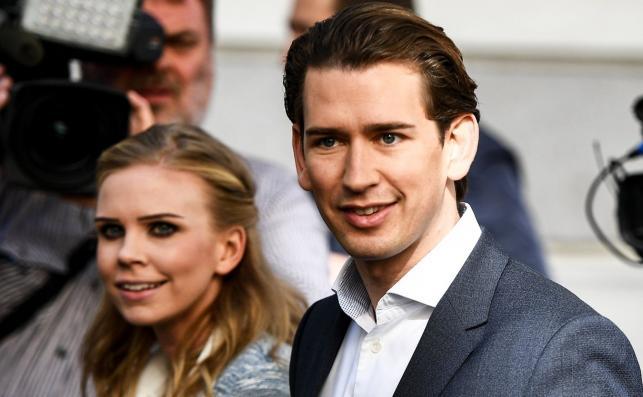 Sebastian Kurz ze swoją dziewczyną Susanne Thier