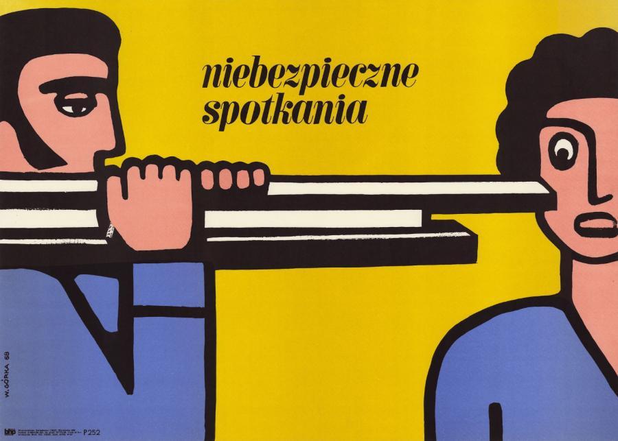 """Plakaty z wystawy """"Po pierwsze bezpieczeństwo"""""""