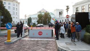 Obywatele RP przed Sejmem