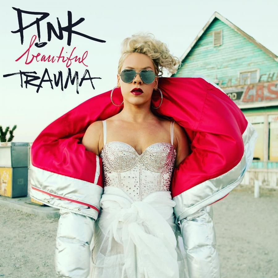 "Pink ""Beautiful Trauma""; Sony Music 2017"