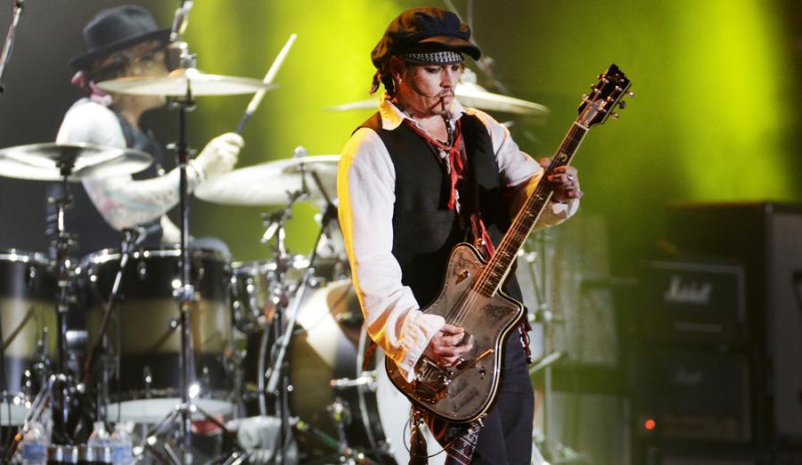 Gitarzysta Johnny Depp