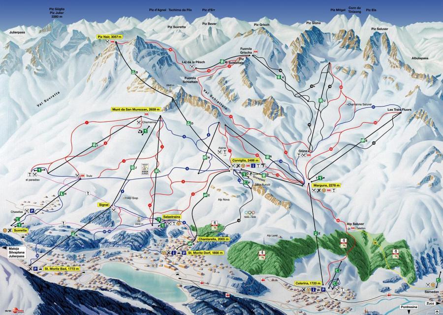 St. Moritz, Szwajcaria