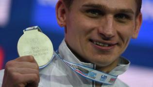 Radosław Kawęcki ze srebrnym medalem pływackich mistrzostw Europy na krótkim basenie