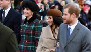 Książę William i księżna Catherine oraz Meghan Markle i książę Harry