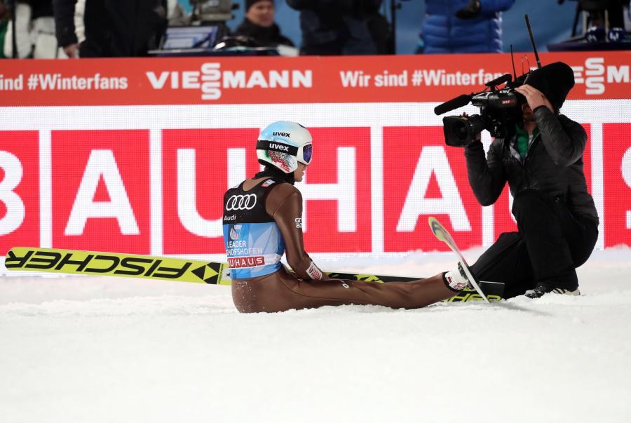 Kamil Stoch wygrał czwarty konkurs Turnieju Czterech Skoczni w Bischofshofen