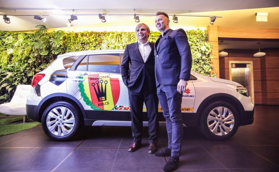 Zdjęcia Piłkarze Dostaną Nowe Samochody Umowa Suzuki Z Klubem Korona Kielce Strona 2 Auto