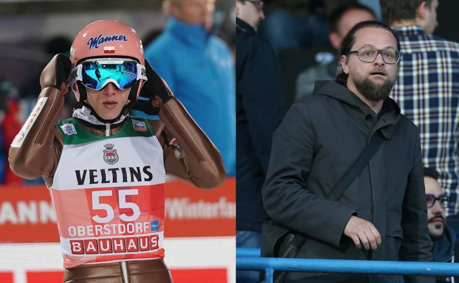 Dawid Kubacki i Wojciech Kuczok