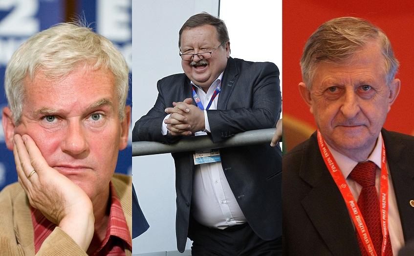 Michał Listkiewicz, Zdzisław Kręcina, Eugeniusz Kolator
