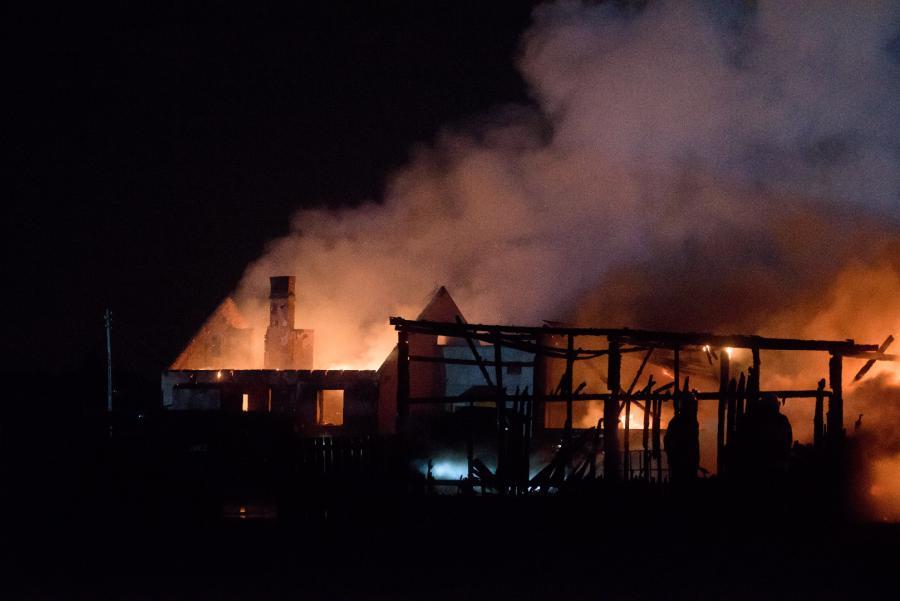 Pożar w Murowanej Goslinie