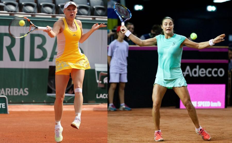 Monica Niculescu i Caroline Wozniacki
