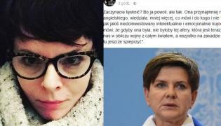 Karolina Korwin Piotrowska, Beata Szydło
