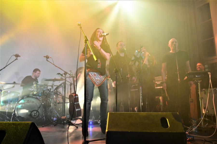 Kayah gościnnie u Buslava. Koncert w klubie Niebo, Warszawa; 14.03.2018