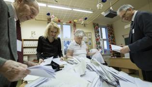 Wybory na Węgrzech. Liczenie głosów
