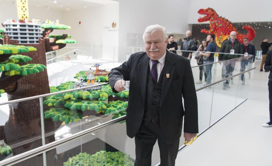 Lech Wałęsa (Photo Lars Moller)