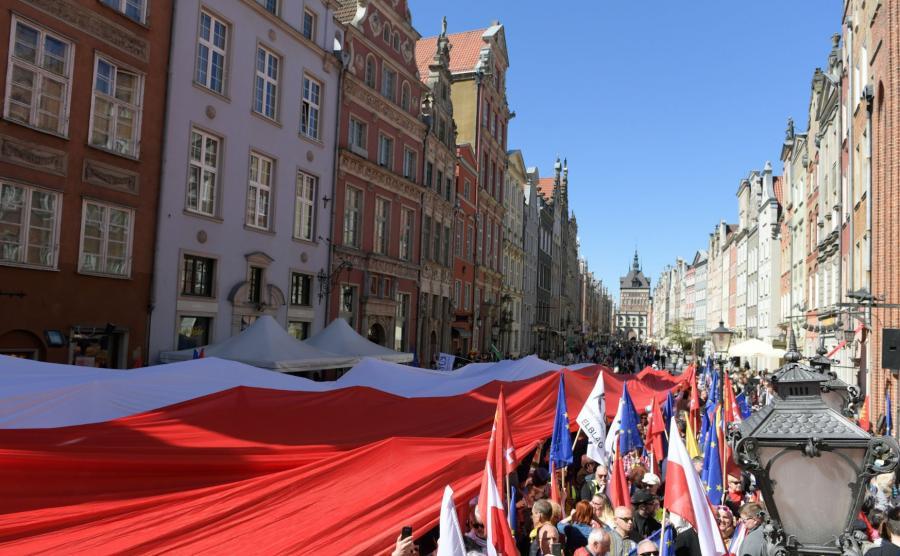 Manifestacja w Gdańsku