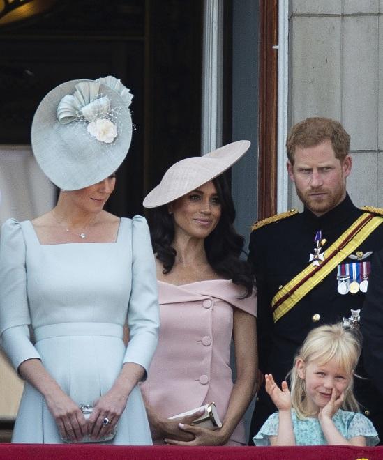 Księżna Catheine, księżna Meghan i książę Harry